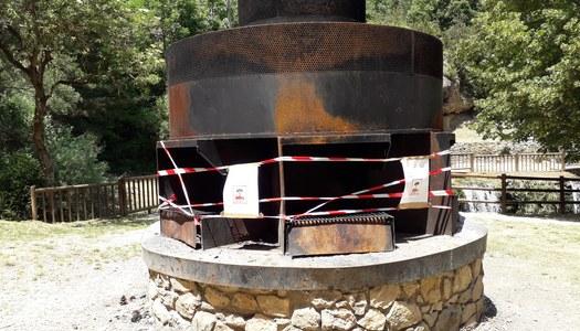 Fonts del Cardener, prevenció risc d'incendi.