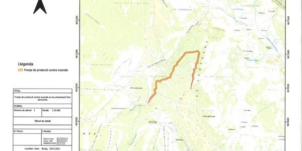 Gestió forestal urbanització Port del Comte sector III